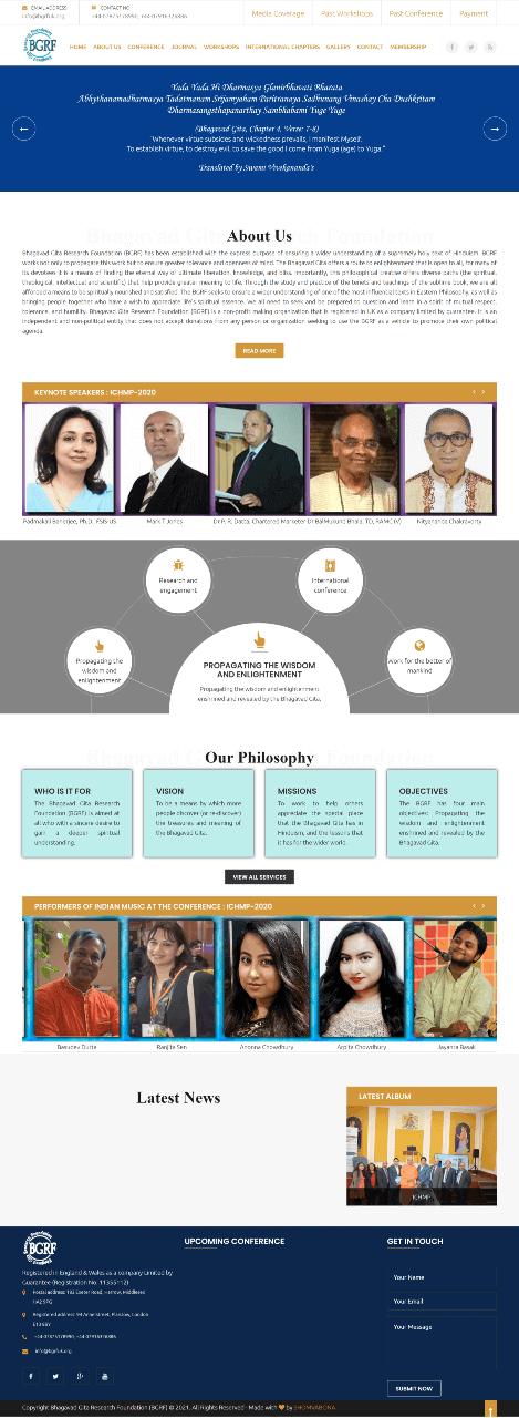 Bhagavad Gita Research Foundation (BGRF)