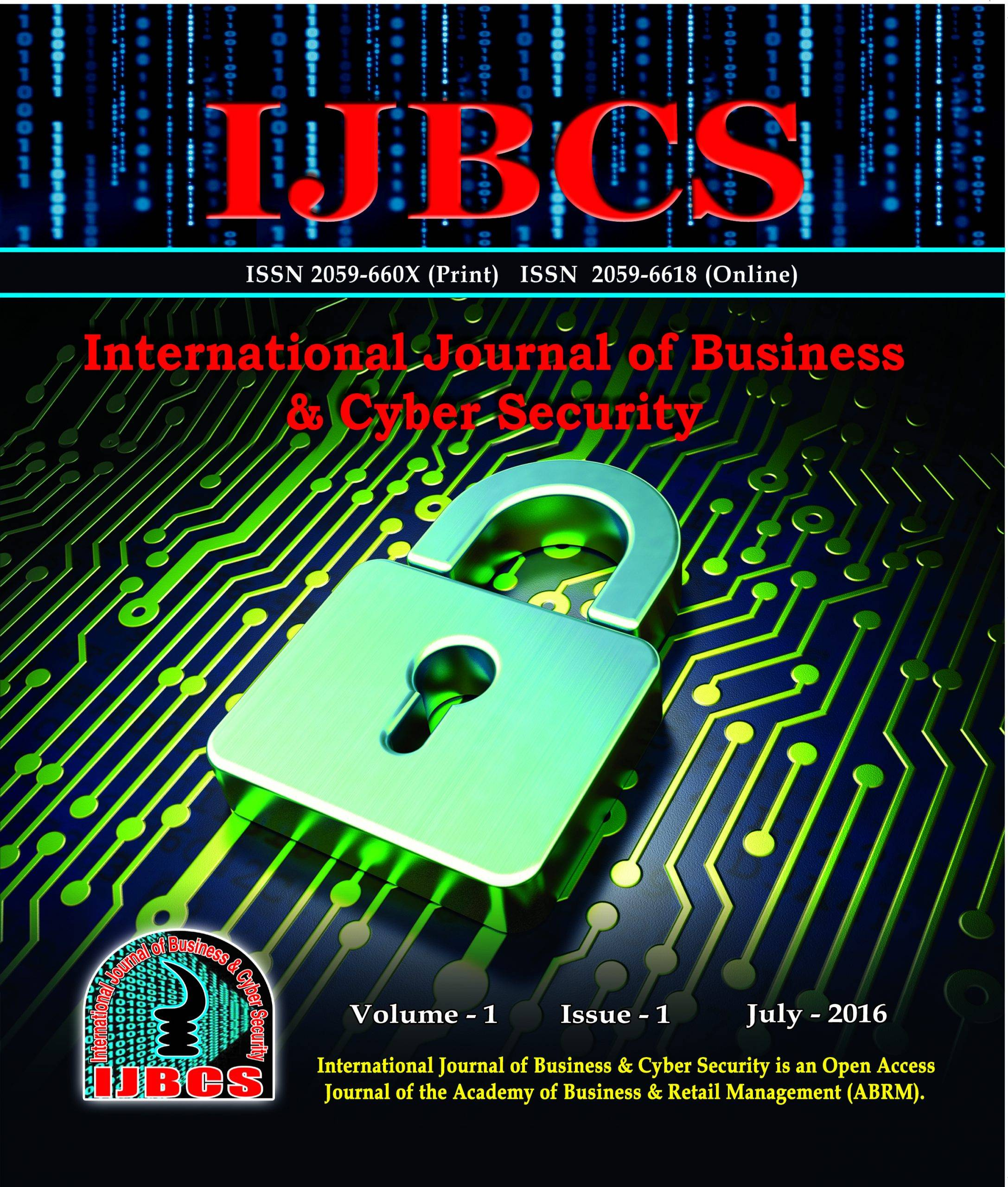 International Journal of Business & Cyber Security