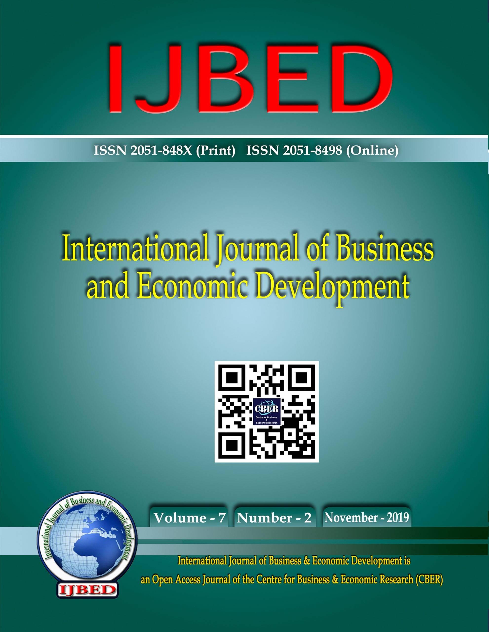 International Journal of Business and Economic Development