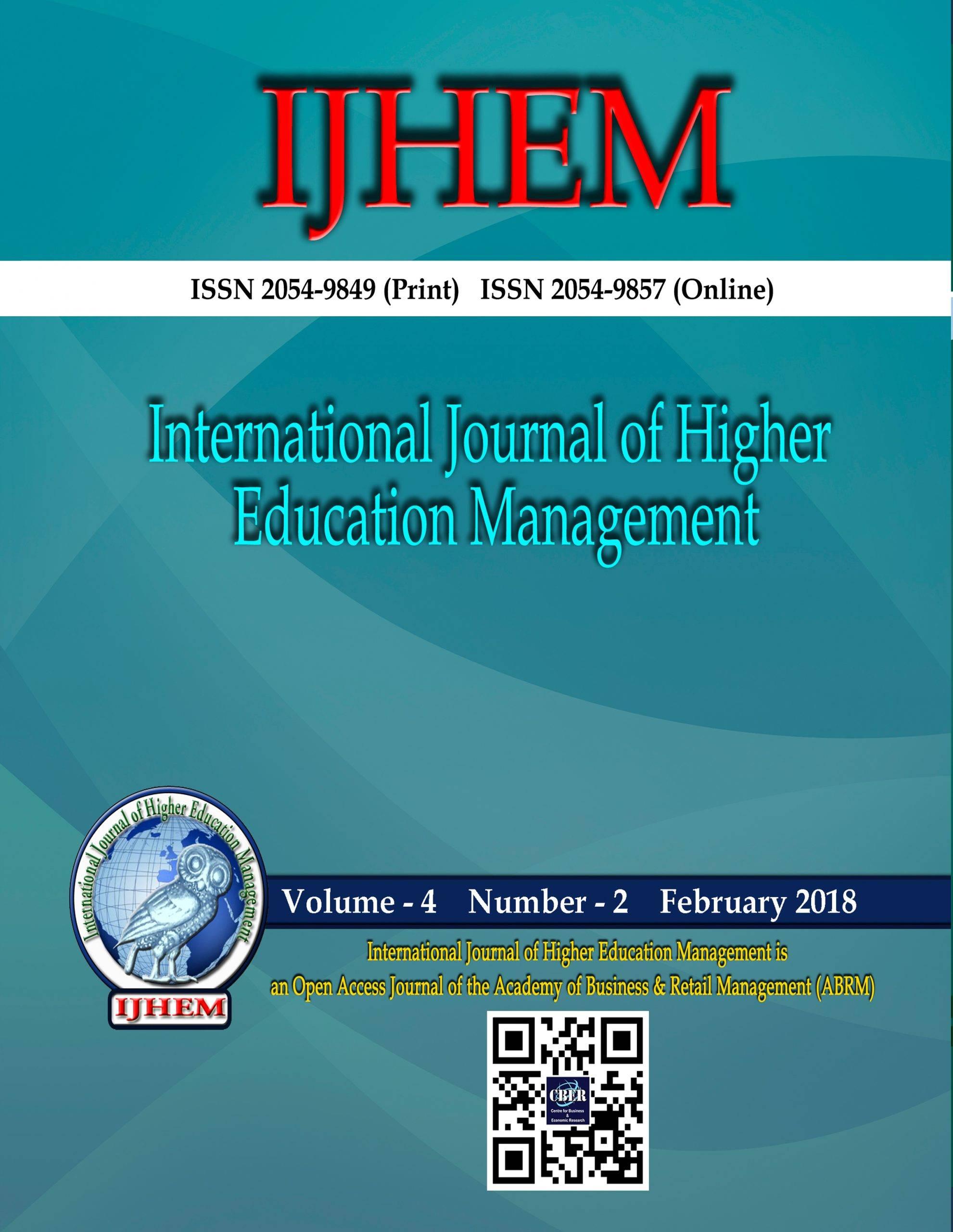 International Journal of Higher Education Management