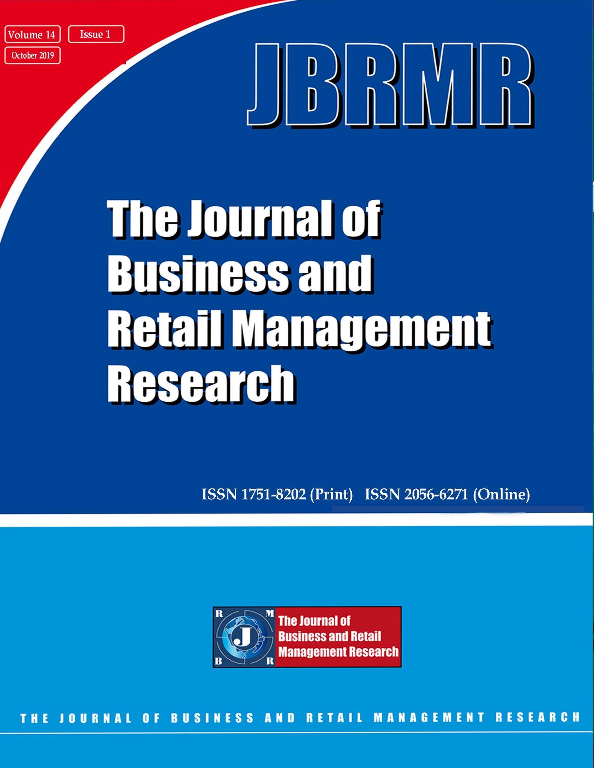 Journal of Business and Retail Management Research